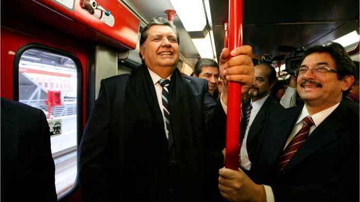 Peru's Former President Shoots Himself In The Neck