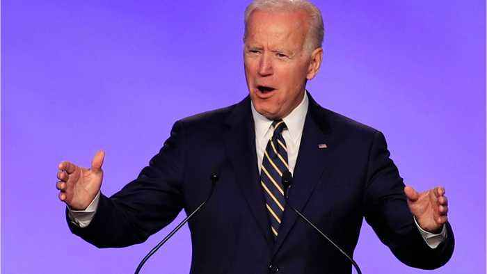 Biden Meets With Aides Before Announcement
