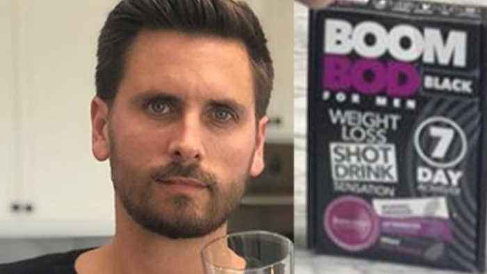 Scott Disick Gets DESTROYED After Trying To Promote Kardashian Style Weight Loss Tea!