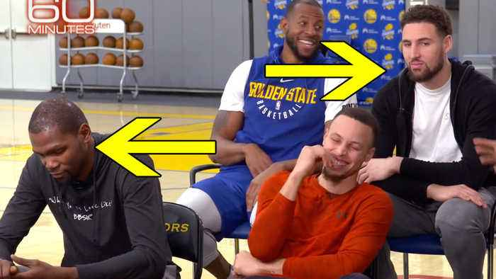 Kevin Durant & Klay Thompson's Reaction To '60 Minute' Question PROVES They Are LEAVING Warriors!