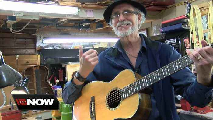 Hamburg man makes sought after acoustic guitars by hand
