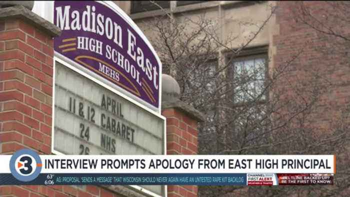 East High principal apologizes for MMSD security coordinator's statement on alleged sexual assault