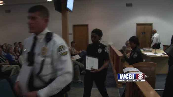 New Police Officers Sworn In -  04-16-19