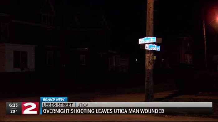 Wednesday night shooting in Utica leaves man wounded