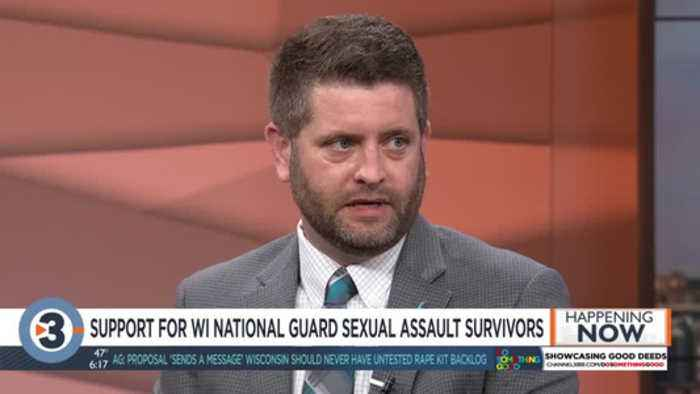Wisconsin National Guard offers support for military sexual assault survivors