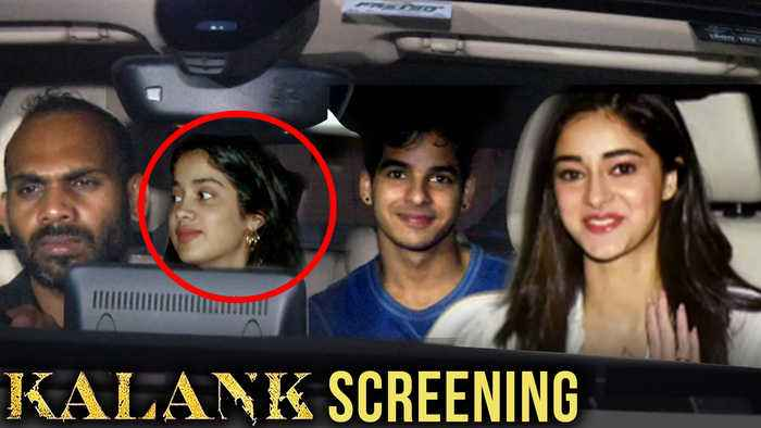 No BIG stars Attend Kalank Screening | Janhvi, Ishaan Khatter, Ananya Panday, Khushi Kapoor
