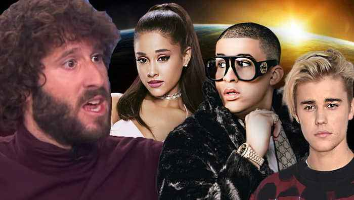 Lil Dicky Explains Why Earth Video Has Justin Bieber Ariana Grande & Bad Bunny