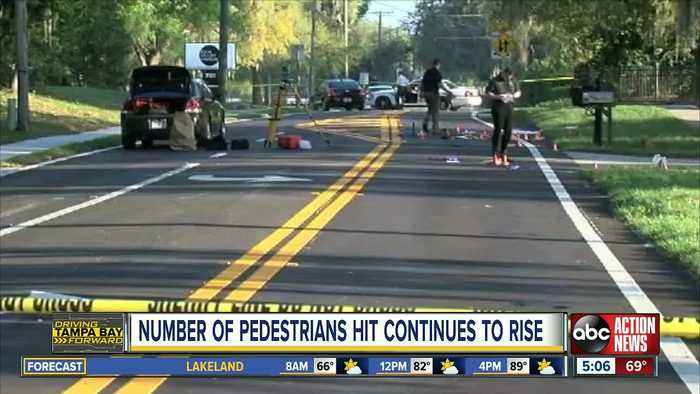 Tampa Bay area ranks high for pedestrian deaths