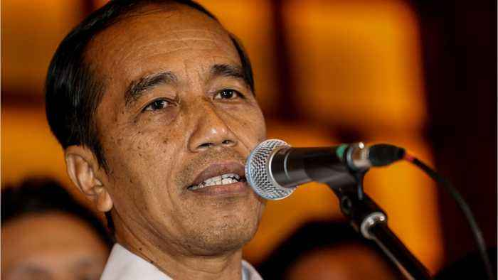 Indonesia's President Announces Election Win, Police Vow Action Against Protest Rallies