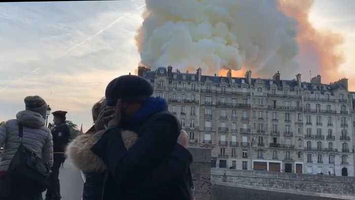 The World Reacts to Devastating Fire at Notre Dame