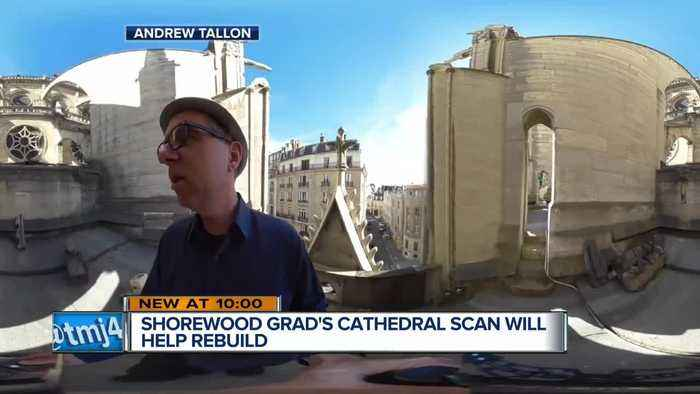 Shorewood graduate's scans will help rebuild Notre Dame Cathedral