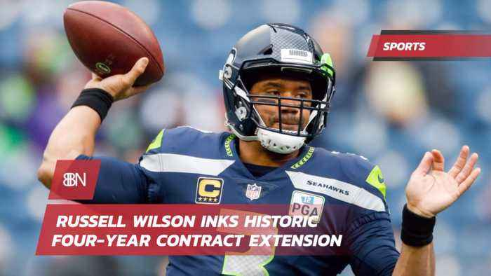 QB Russell Wilson Signs A Massive Money Making Deal
