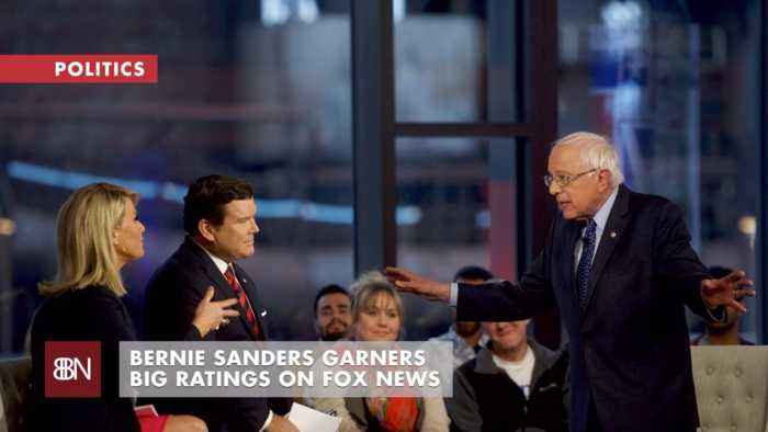 2020 Democratic Candidate Bernie Sanders Visits Fox News