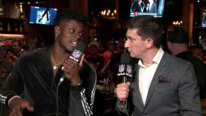 Cleveland Browns tight end David Njoku on wide receiver Odell Beckham Jr.'s return to New York in Week 2: 'Gotta love it ... he