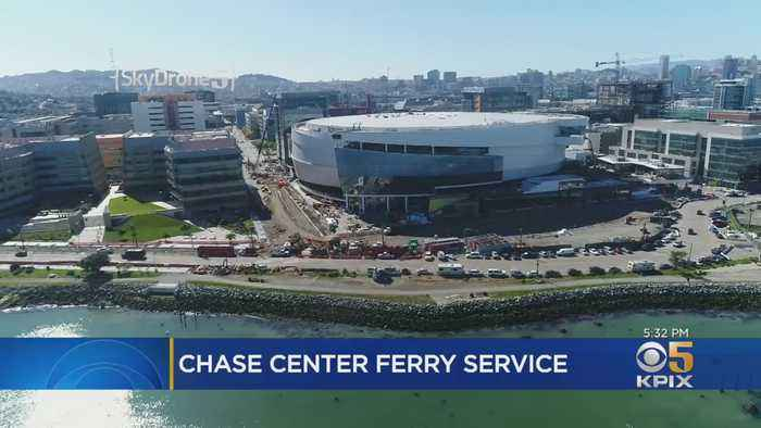 San Francisco Explores New Ferry Service For Warriors Games, Other Chase Center Events