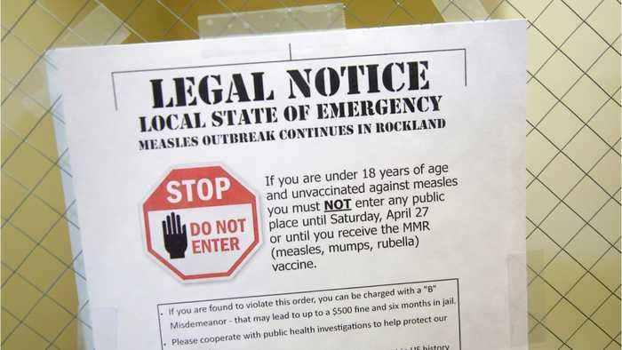 Anti-Vaxxers Sue Over Vaccine Mandate
