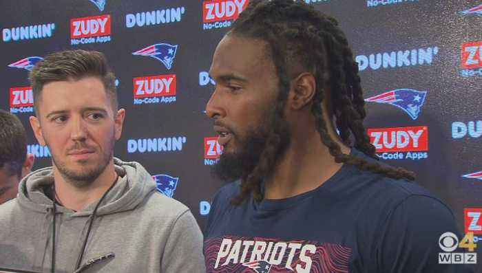 Brandon Bolden Happy To Be Back 'Home' With Patriots