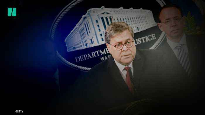 Attorney General Barr Goes To Bat For President Trump