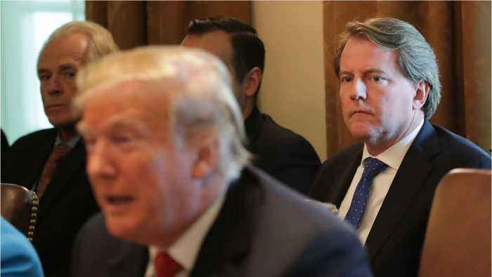 Trump Wanted McGahn To Intervene With Special Counsel Investigation