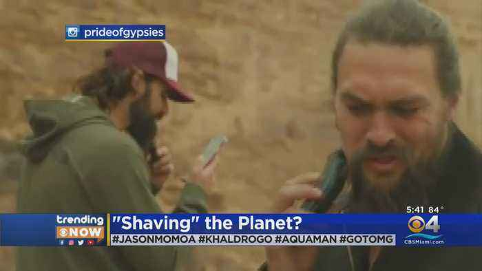 Trending: Jason Momoa Shaves Beard