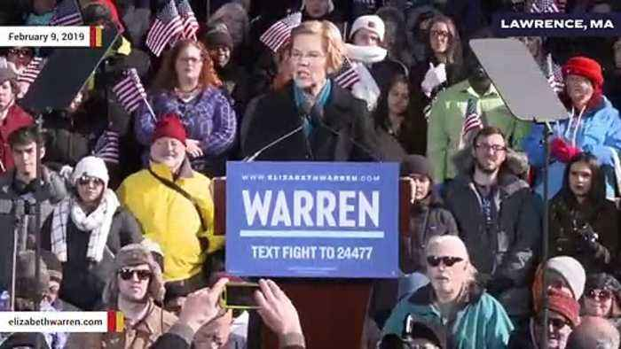 Warren Calls For House To 'Initiate Impeachment Proceedings' Against Trump After Mueller Report