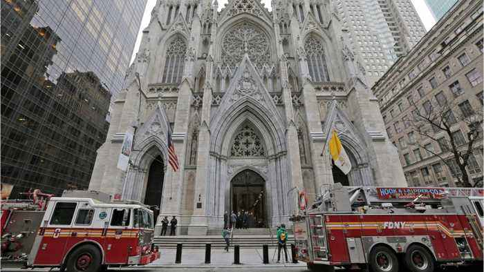 Man Who Entered New York Cathedral With Gasoline Charged With Attempted Arson