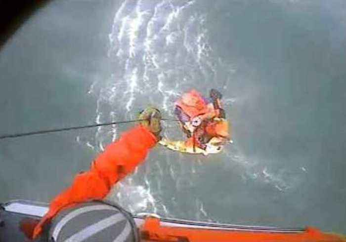 Two Rescued From Sinking Vessel Off Northern California