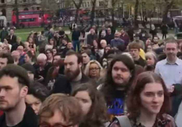 Vigil for Slain Journalist Lyra McKee Held Outside Belfast City Hall