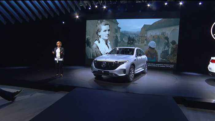 World Premiere Mercedes-Benz EQC at the 2019 NYIAS