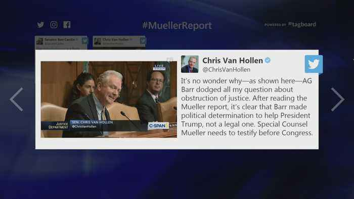 Maryland Lawmakers Respond To Mueller Report Release