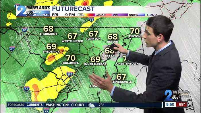 Severe Storms Continue Through Midnight