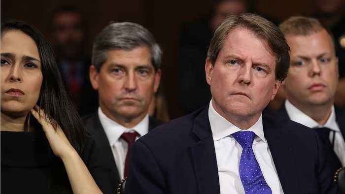 White House Counsel Don McGahn Told Mueller About Trump's Request To Fire Mueller