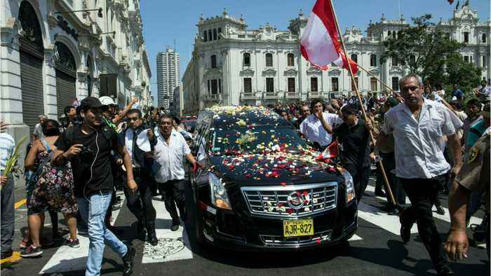 Peru Ex-President Leaves Cadaver As Sign of 'Contempt' For His Enemies