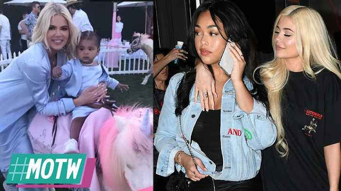 Khloe SHADES Tristan After He Shows Up To babies BDay! Kylie & Jordyn Ready To Be Friends! | MOTW