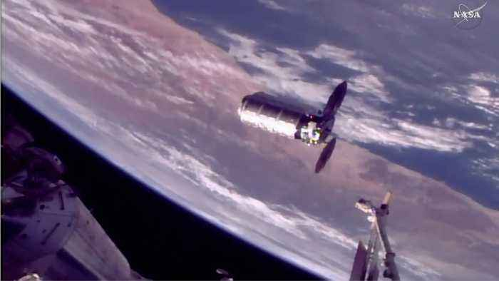 Resupply Mission Hauls 7,600lbs Equipment To ISS