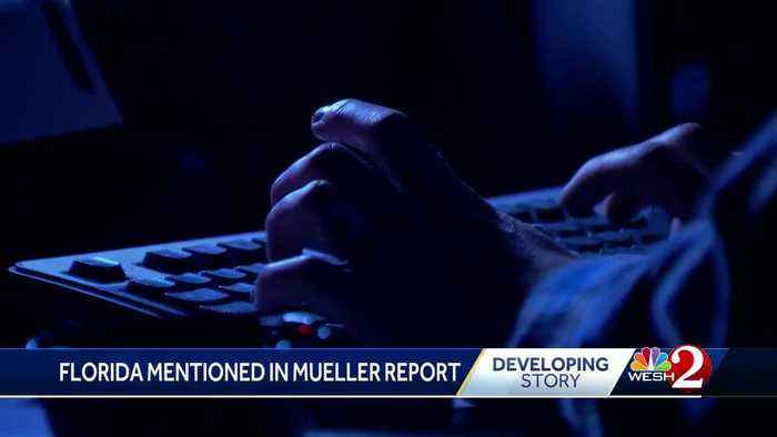 Florida mentioned in Mueller report
