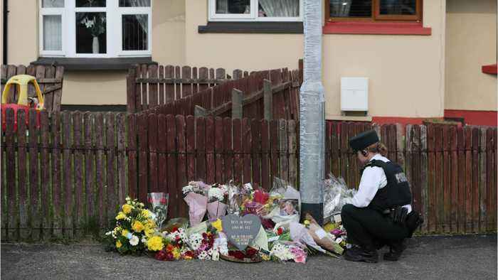 Northern Ireland Leaders Urge Calm As Police Arrest Two Over Journalist's Killing