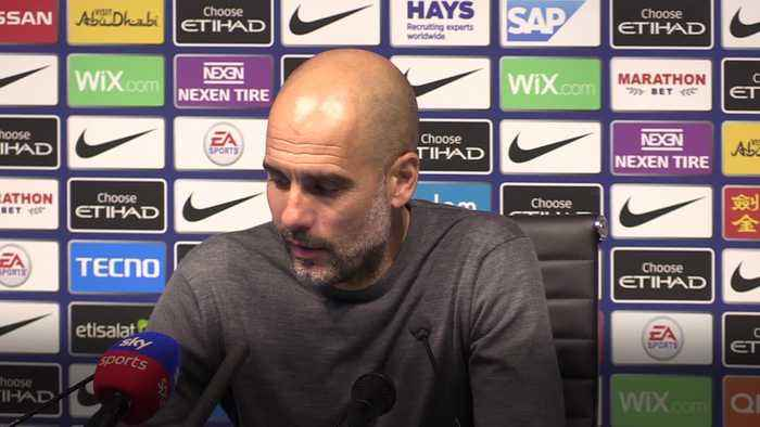 Pep Guardiola praises Phil Foden's ability as Man City return to top of the league