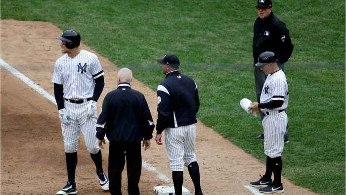 Aaron Judge Latest Yankee To Get Hurt