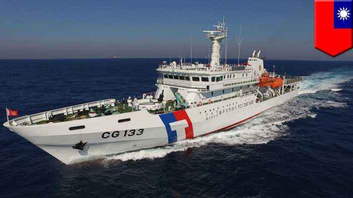 Coast guard fires stun grenade at rock-throwing Chinese fishermen