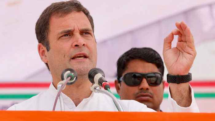 When Rahul Gandhi's this promise people chants slogans | Oneindia News
