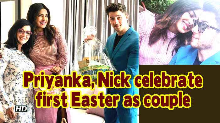Priyanka, Nick celebrate first Easter as couple