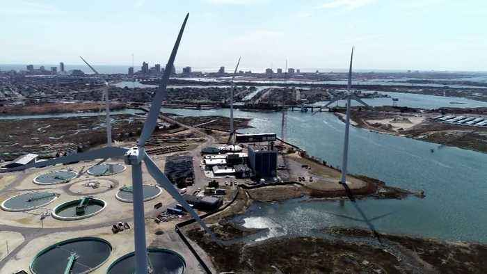 CBS3 Green Team: Drone Footage Of New Jersey Wind Farms