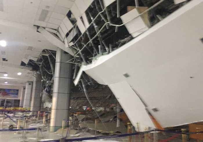 Travelers Stranded Following Closure of Manila Airport Due to Earthquake Damage