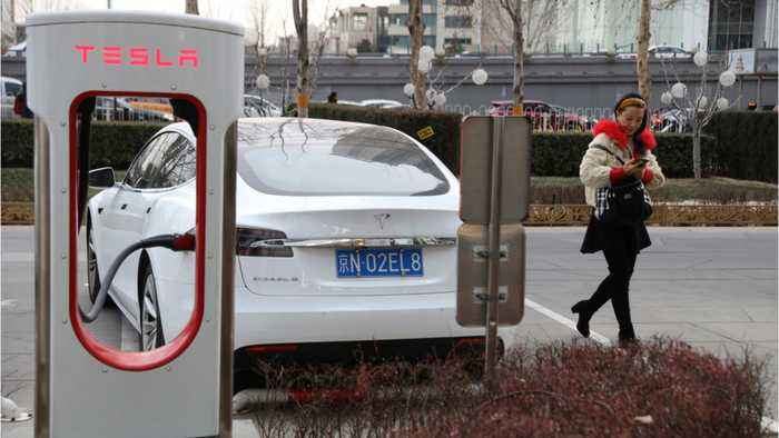 Tesla Model S Catches Fires In China