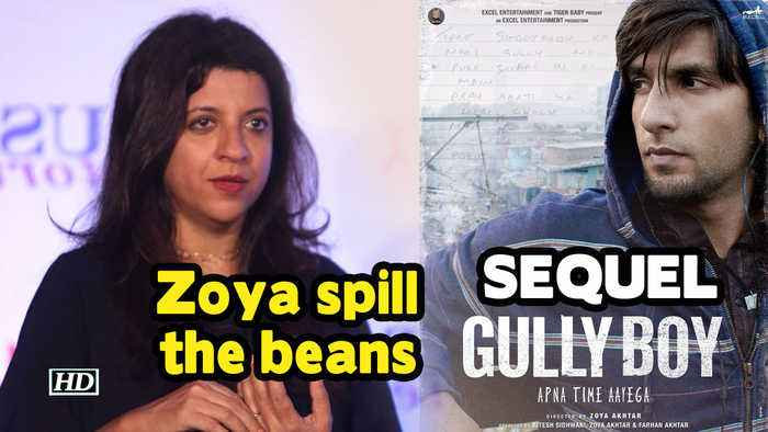 Zoya spill the beans on 'GULLY BOY's' SEQUEL