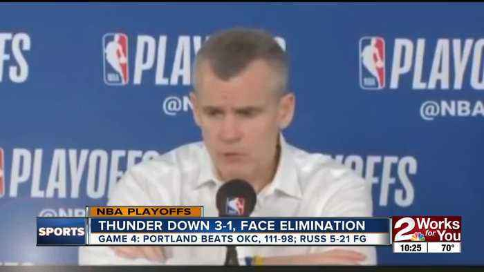 OKC Thunder facing elimination in Game 5, Russell Westbrook's legacy being questioned