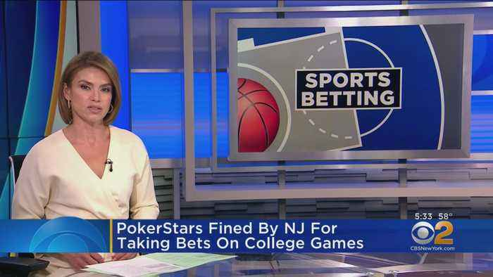 PokerStars Fined By NJ For Taking Bets On College Games