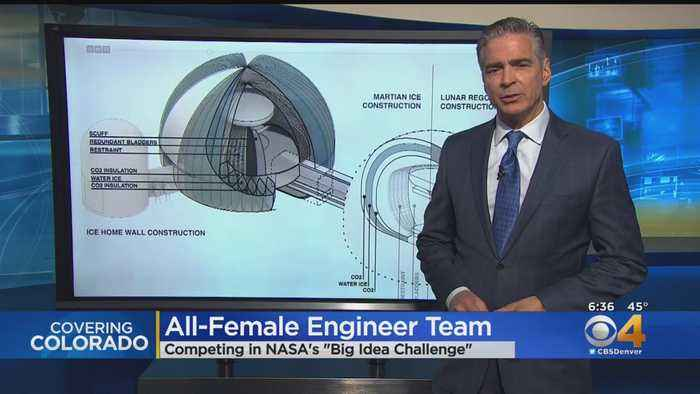 All-Female Engineer Team Competes In NASA Challenge