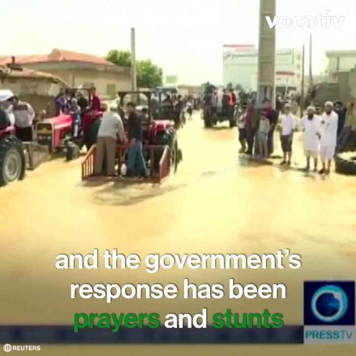 Flood Relief Efforts in Iran Reveal Government's Lopsided Priorities